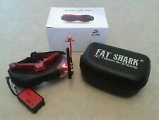 Fatshark Attitude V4 10th Anniversay Goggles Furious FPV TrueD Receiver RC Drone