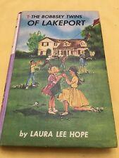 Vtg The Bobbsey Twins Of Lockport 1961 Laura Lee Hope Grosset & Dunlop Hardcover