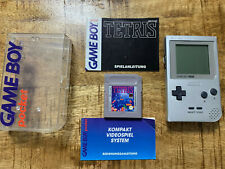 Gameboy Pocket - Silber / Silver + OVP/ CIB/ BOXED + Tetris