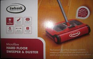 Ewbank Hardfloor Sweeper with Microfiber Duster - Red 5034595104404