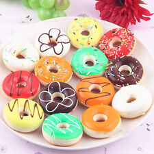 Delicious Donuts Bread Kawaii Cell Phone Charms Chain Soft Squishy Bun Straps