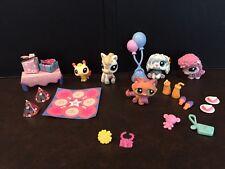 LPS Littlest Pet Shop Festive Friends 5 Pets Bee Set 1708 1709 1710 1711 1712