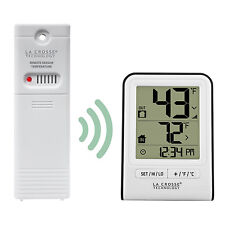 308-1409WT La Crosse Technology Wireless Thermometer with TX141-BV2 Sensor