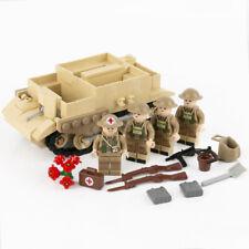 World War 2 UK British Army Bren Gun Carrier minifigure Half track WW2 WWII tank