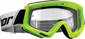 Thor MX Motocross YOUTH Combat Goggles (Flo Green) Youth
