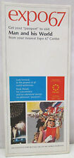 Vintage EXPO 67 Man and His World Exhibition Brochure 1967 Passports Information