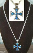 Collares y colgantes de bisutería colgantes color principal azul