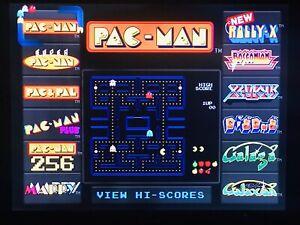 Pac-Man 2012 Bandai Namco 12 In 1 Tv Plug N Play Game 12 GAMES -Tested