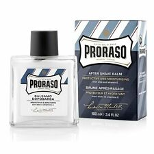 Proraso Protective and Moisturising Aftershave Balm Blue 100ml Aloe/Vitamin E
