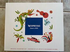 Nespresso LTD ED. CAFECITO DE CUBA DISCOVERY BOX NEW Espresso Cups & Saucers NEW