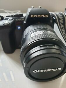 Olympus EVOLT E-500 8.0 MP Digital SLR Camera - Black (w/ 14-45mm Lens)