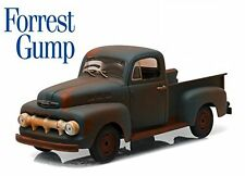 Ford F-1 Pick-Up 1951 from Forrest Gump Rusty Brown 1:18 Model GREEN LIGHT
