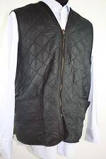 BARBOUR Polarquilt Black Waistcoat Zip In Liner Polyamide Mens Vest - 2XL XXL