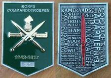 Commemorative Challenge Coin - Dutch Korps Commandotroepen