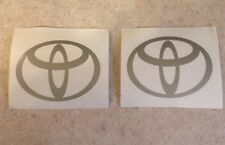 """Toyota Decals, TRD, 4""""x 3"""" ***Custom Sizing Available."""