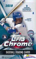 2019 Topps Chrome Baseball Huge 24 Pack Factory Sealed Hobby Box-2 Autographs !