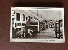 F1f postcard used 1915 victoria & albert museum south kensington