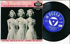 "THE BEVERLY SISTERS 45 TOURS EP 7"" UK WILLIE CAN"