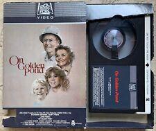 On Golden Pond Betamax 1981