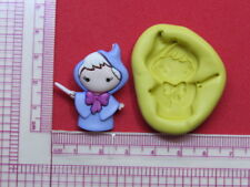 Fairy Godmother Silicone Mold A960 Acrylic Resin for Edible Candy Wax Soap