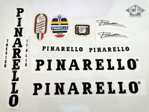 PINARELLO V2 black letters decal set sticker complete bicycle FREE SHIPPING