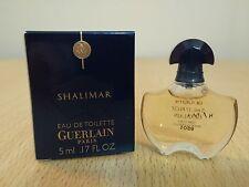Shalimar Eau de Toilette Guerlain for women 5ml EDT MINI PERFUME MINIATURE NEW