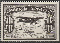Stamp Canada CL48 1930 Airmail Semi Official Commercial Airways LTD Alberta MNH