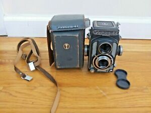 Vintage Yashica 44 Camera With Case