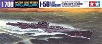 Tamiya 31435 Japanese Submarine I-58 1/700 Scale Plastic Model Kit