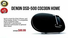 Denon DSD500BK Cocoon Airplay Speaker with 30-Pin Dock (Black)