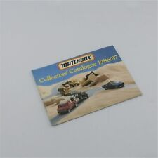 Matchbox Lesney Catalog 1986-1987 Sandpit Diorama Cover Superfast Models Booklet