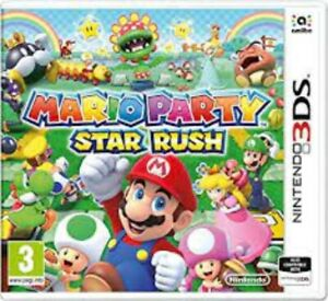 Mario Party Star Rush - Nintendo 3DS Game. *** Cartridge Only ***  EUR
