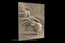 3D Model STL for CNC Router Engraver Carving Relief Artcam Aspire Women 132