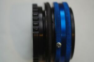"""2/3"""" B4 Lens to Canon EOS M mount  adapter wt byilt in 1.4X glass adjustable bf"""