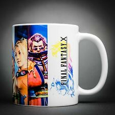 Final Fantasy 10 - Mug Tasse Cafe - 325 Ml - Tidus Yuna Auron Wakka Lulu...