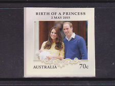 2015 Birth of Princess Charlotte - Booklet Stamp