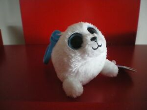 Ty Beanie Boos ICEBERG the seal keyclip  6 NWMT. Retired and hard to find