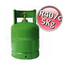 3S R407c Kältemittel 5 KG Füllgewicht Neu befüllt Eigentumsflasche KLIMAANLAGE