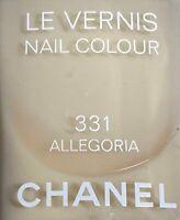 chanel nail polish 331 ALLEGORIA rare limited edition VINTAGE