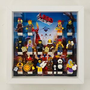 Display Case Frame for The Lego movie 1 one minifigures 71004 no figures 25cm