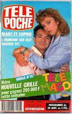 ▬►Télé Poche 1146 (1988) GERARD RINALDI_HEATHER THOMAS_CHANTAL GOYA_EDITH PIAF