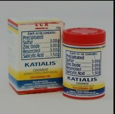 2 LARGE Katialis Ointment 30g Anti-fungal Medicated Product of the Philippines
