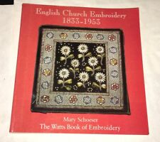 English Church Embroidery 1833-1953 Watts Book of Embroidery 1998 Fiber Arts