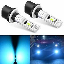 JDM ASTAR 2x 880 High Power 9G2 SMD 8000K Ice Blue LED For Driving Fog Light 892