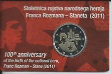 2 EURO Blister Slowenien 2011 PP