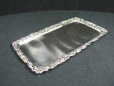 830 Silber Kuchenplatte / Tablett / Echtsilber