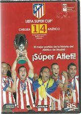 DVD FUTBOL - ¡SUPER ATLETI! - CHELSEA 1 - ATLETICO DE MADRID 4 - UEFA SUPER CUP