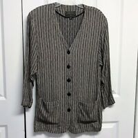 Express Tunic Blazer Size M Striped
