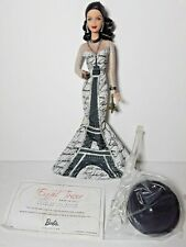 Barbie EIFFEL TOWER Dolls of the World Pink Label Landmark Collection Damaged