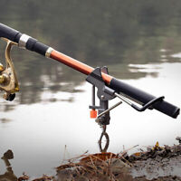 Fishing Automatic Bracket Fishing Rod Pole Stand Holder with Tip-Up Hook US!